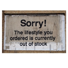 Banksy London Lifestyle OOS A3 Print -home-The Vault