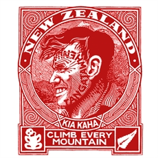 Climb Every Mountain A3 Print-artists-and-brands-The Vault