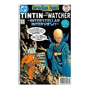 TinTin and the Watcher Print A4