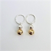 Opulence Earrings Silver Gold Plated-new-The Vault