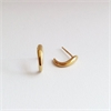Curl Earrings Gold Plated-jewellery-The Vault