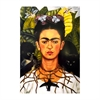 Frida Kahlo Self Portrait Thorn Print A4-home-The Vault