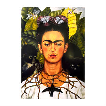 Frida Kahlo Self Portrait Thorn Print A4