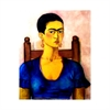 Frida Kahlo Self Portrait Print A3-home-The Vault