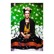Frida Kahlo on a Bench Print A3-home-The Vault