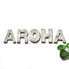 AROHA Ceramic Letter Set Kawakawa Black-new-The Vault