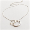 Concentric Necklace Stg Silver  -jewellery-The Vault
