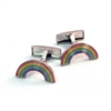 Rainbow Cufflinks-for-him-The Vault