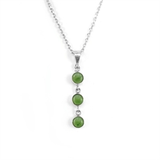 Three Muses Pounamu Necklace-jewellery-The Vault