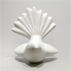 Ceramic Fantail Wall Art – Bone White  -home-and-wedding--The Vault
