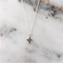 Square Star Silver Necklace