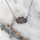 Silver Lining Cloud Silver Necklace