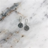 Rose Earrings Silver-jewellery-The Vault