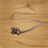 Silver Frog Pendant-jewellery-The Vault