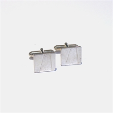 Piece Cufflinks Sterling Silver-artists-and-brands-The Vault